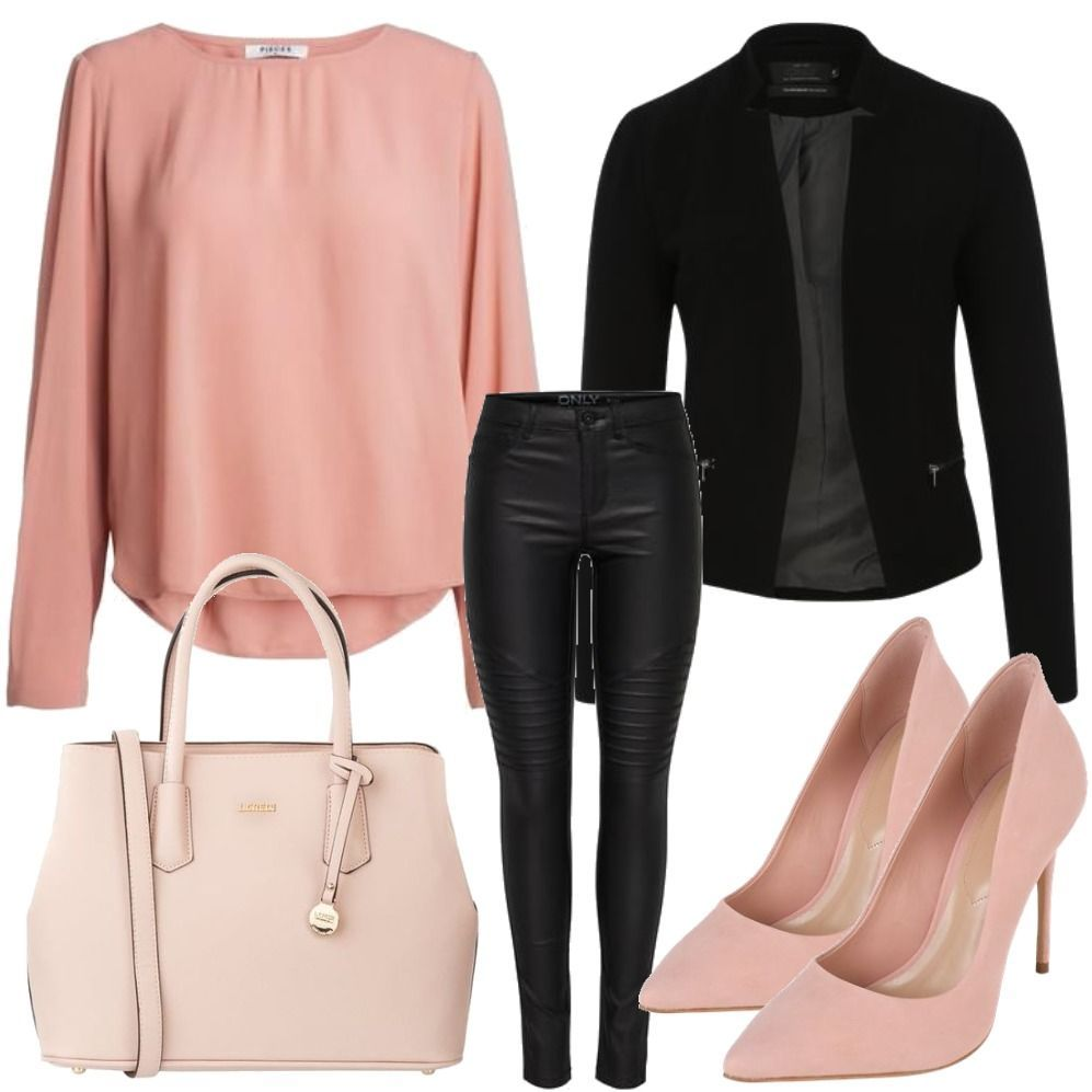 Pieces Pink Business Outfit Fur Damen Zum Nachshoppen Auf Stylaholic