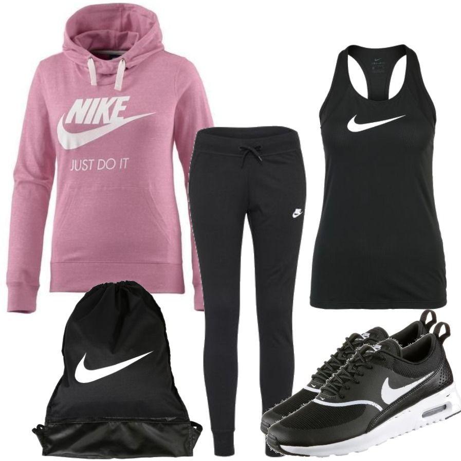 perfect nike sport outfit damen women