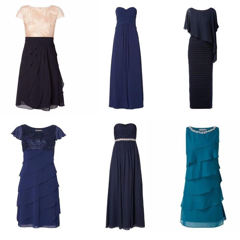 Kleid blau christian berg