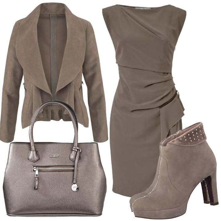 Etuikleid outfit