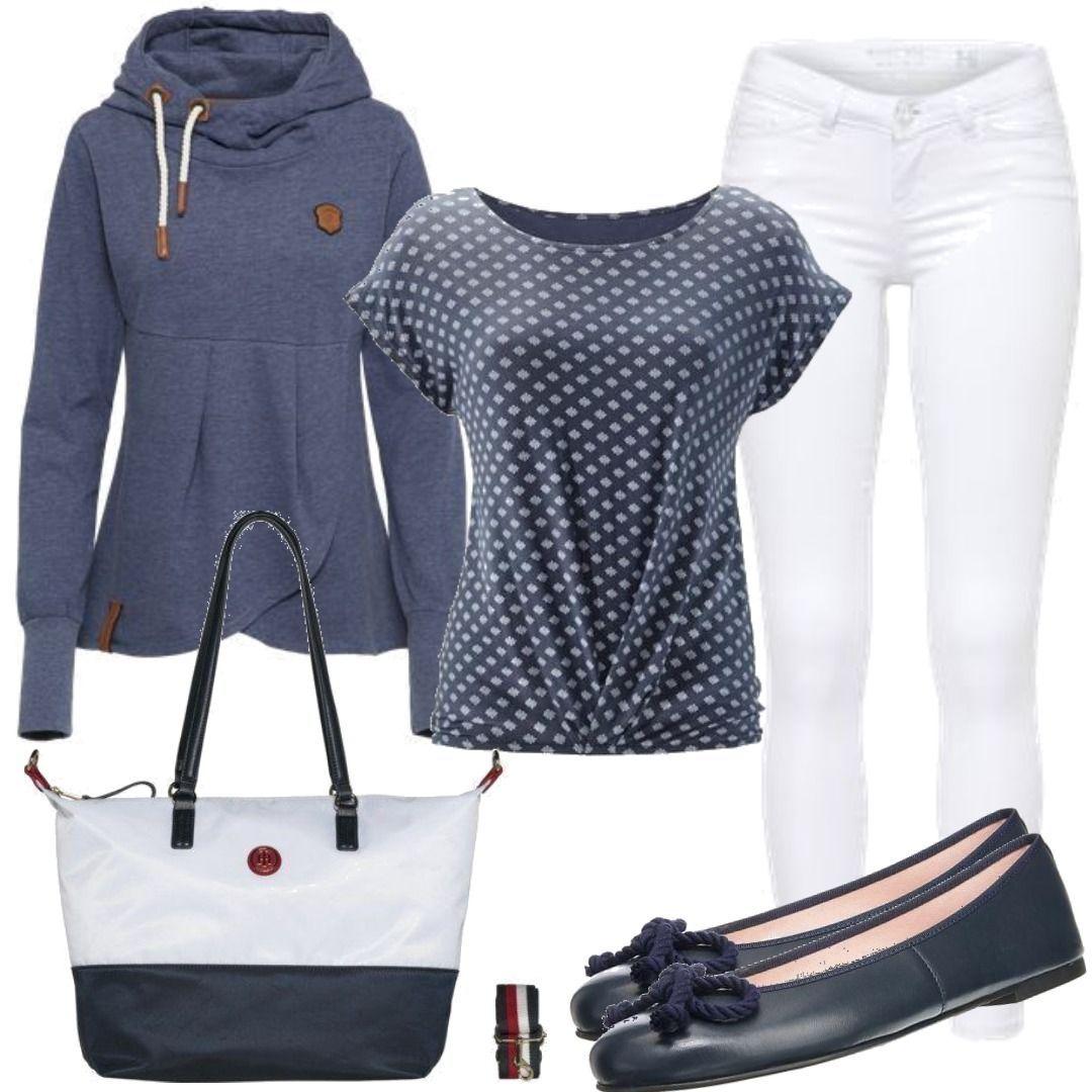 378ee217c89a8f LASCANA Shirt marine Outfit für Damen zum Nachshoppen auf Stylaholic