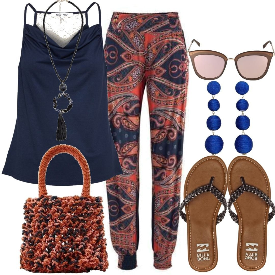 9288d58a7a362c Beach Trend Frauen Outfit für Damen zum Nachshoppen auf Stylaholic