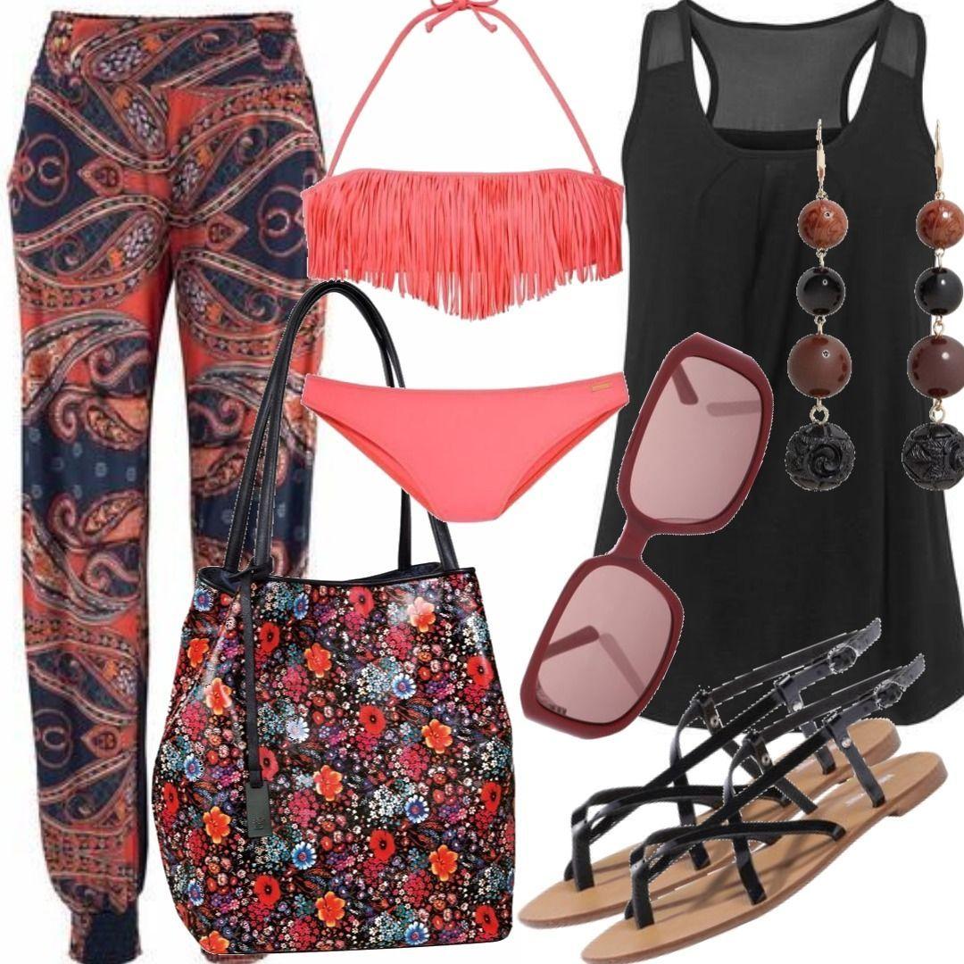 f187bc86da0525 LASCANA Strandhose Outfit für Damen zum Nachshoppen auf Stylaholic
