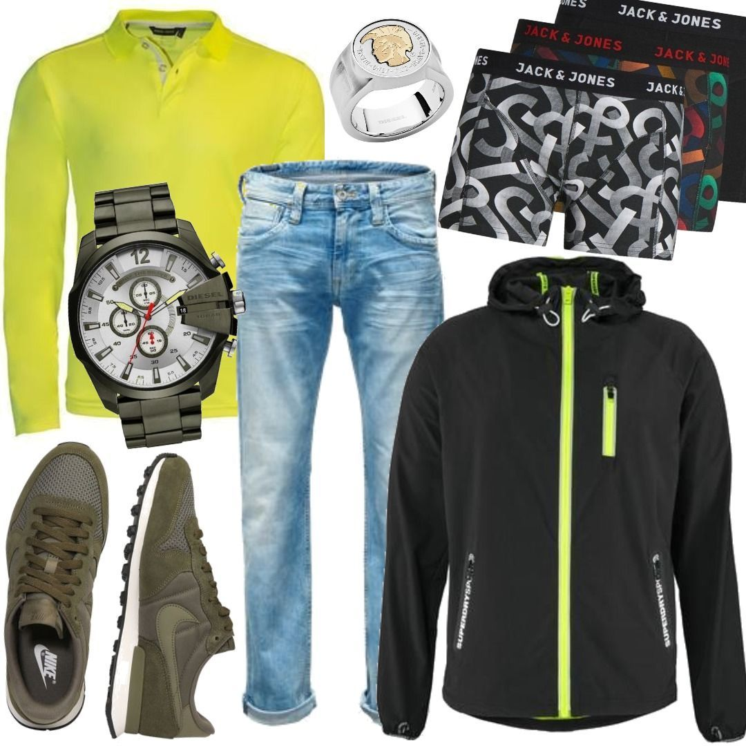 new arrival 4576b 021ee Superdry Trainingsjacke SPORTS ACTIVE FLASH RUN Men Outfit ...