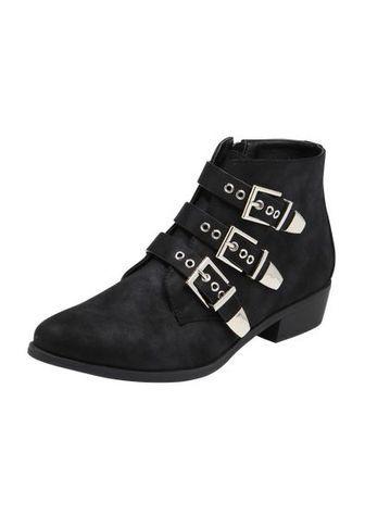 ABOUT YOU Ankle Boots 'SENTA' schwarz mpg3BZ