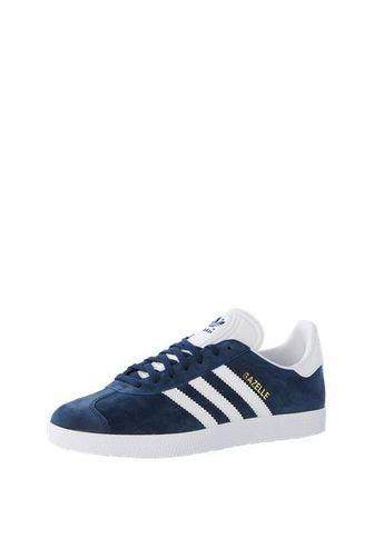new style c8425 34c90 ADIDAS ORIGINALS Sneaker Gazelle navy  weiß Blau