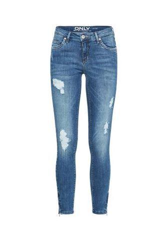 Skinny-Jeans oKENDELL REG SK ANK blue denim Only EQZvt4