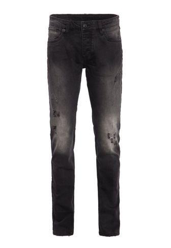 Blue Monkey Slim-fit-Jeans »Kevin 9006MT« mit verdeckter Knopfleiste und  markanten 3cc958cab6