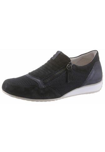 Gabor Slip-On Sneaker, mit weich gepolstertem Schaftrand, blau, 38 38
