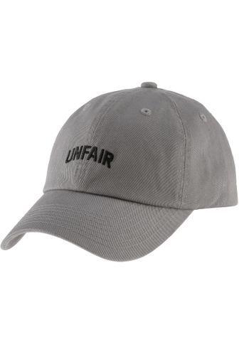 new products 3c62f e6852 Unfair Athletics Cap Herren Grau