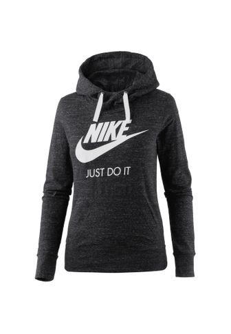 purchase cheap 10545 99843 Nike Gym Vintage Hoodie Damen Schwarz