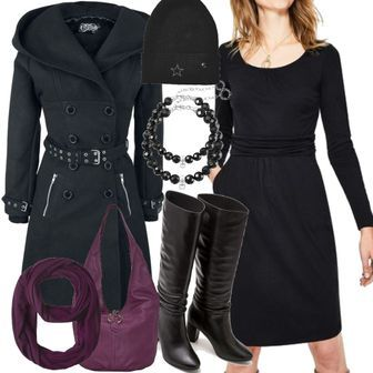 Mabel Jerseykleid Black Damen Boden. Size Schwarz 5dbaf7b6a9