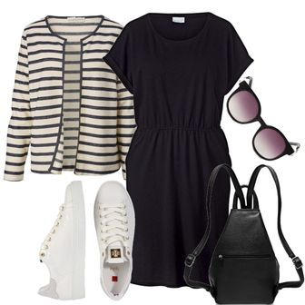 4e9c4eb7226e18 Große Größen Jersey-Kleid Angel of Style Outfit